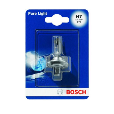 LAMPADINA 12V 55W H7 BOSCH PURE LIGHT - 1190