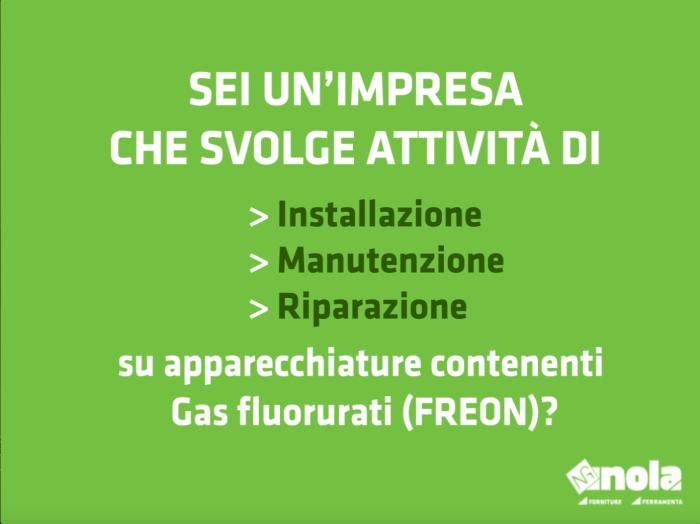 Nuovo Regolamento sui Gas Fluorurati (o FREON): quali novità?