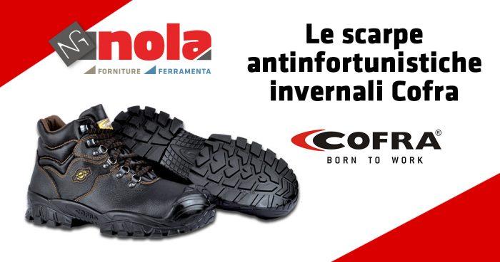 Le scarpe antinfortunistiche invernali Cofra