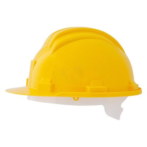Cascho protettivo per protezione testa colore giallo EN 397:2013